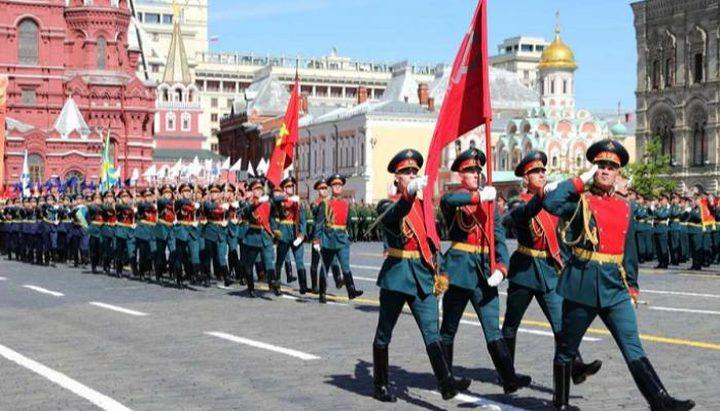 روسيا تحتفل بعيد النصر