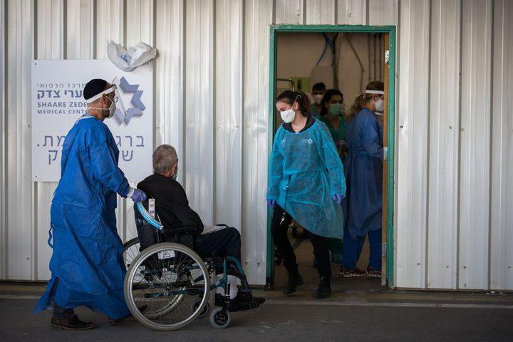 إرتفاع عدد المصابين بفيروس كورونا في دولة الإحتلال لـ 22044حالة