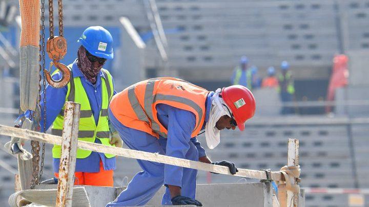 قطر: 1102 إصابة كورونا بين عمال مشاريع كأس العالم