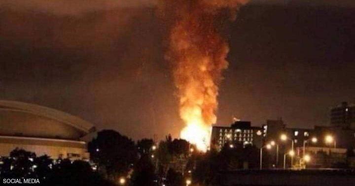 انفجار رهيب وسط طهران