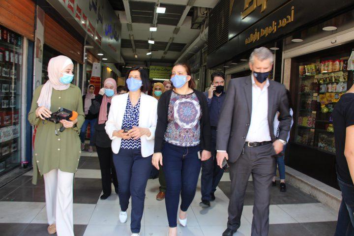 الأتيرة:الخارطة الوبائية وانتشار بؤر الاصابة في نابلس تزداد