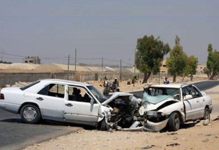 غزة: خمسة وفيات منذ بداية الشهر بحوادث السير