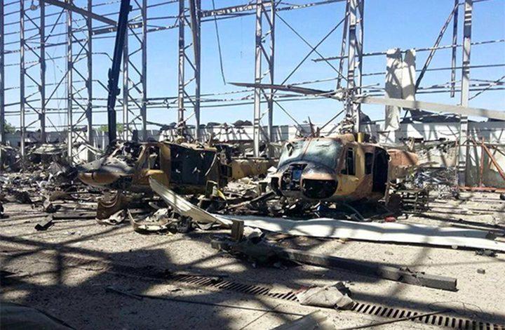 تدمير مخزون طائرات مسيرة للحوثيين في ضواحي الحديدة باليمن