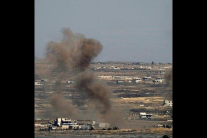 قتلى وجرحى في غارات استهدفت مواقع عسكرية سورية