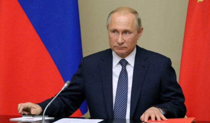 الرئيس الروسي : إنقاذ حياة المواطنين أهم من إنقاذ الاقتصاد