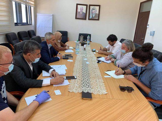 """التنمية الاجتماعية تبحث مع """"أوتشا"""" آليات العمل والتنسيق في غزة"""