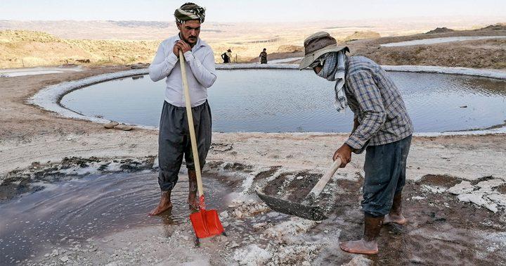 قرية الملح العراقية تتغلب على الخسائر الاقتصادية لوباء كورونا