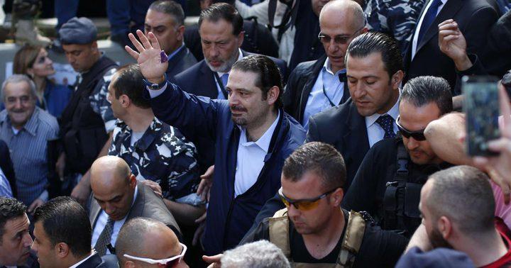 الأمن اللبناني يحقق في انفجار استهدف موكب سعد الحريري