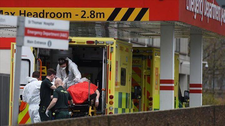 بريطانيا: ما يقارب 55 الف حالة وفاة بفيروس كورونا