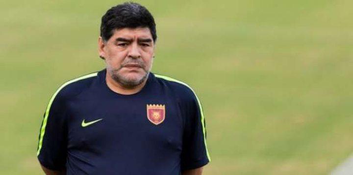 ترشيح مارادونا لتدريب المنتخب الإسباني