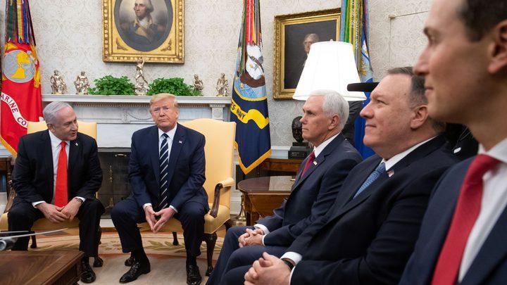 وفد البيت الأبيض يغادر دولة الإحتلال بعد مشاورات حول قرار الضم