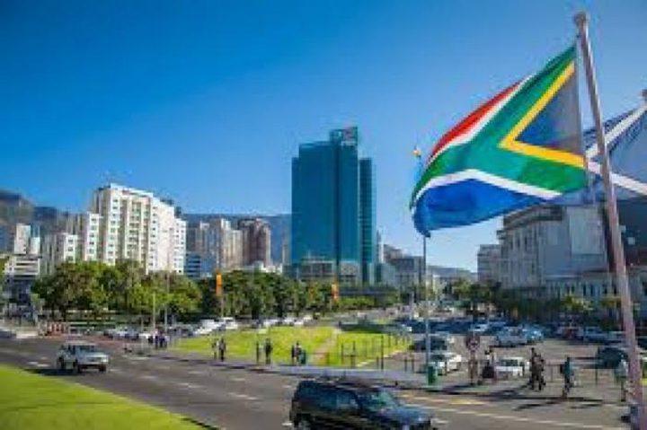 جنوب افريقيا تدين مخطط الضم الإسرائيلي