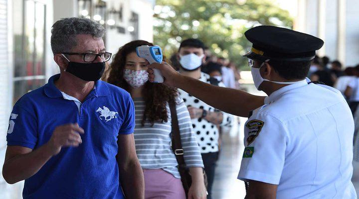 البرازيل تعلن عن 33846 إصابة بفيروس كورونا