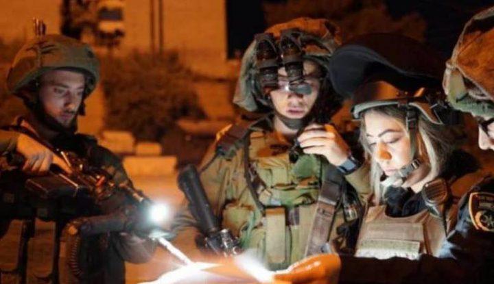 حملة مداهمات واعتقالات بالضفة