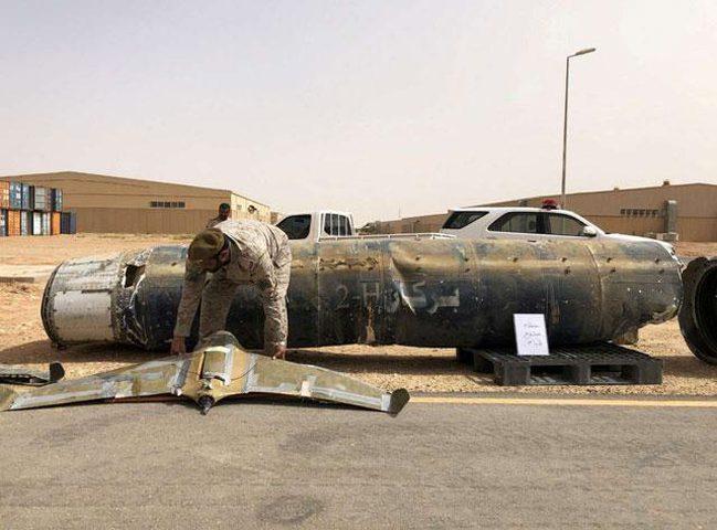 الرد على إطلاق الحوثيين صواريخ وطائرات على السعودية