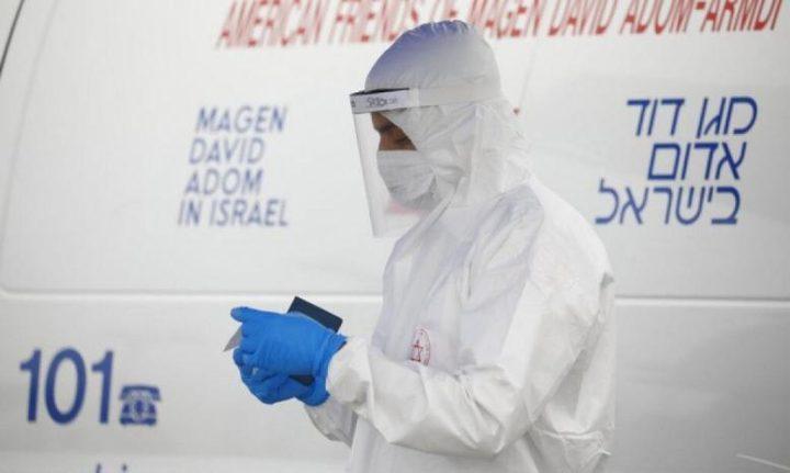 """3 وفيات و431 إصابة جديدة بفيروس """"كورونا"""" لدى الاحتلال"""