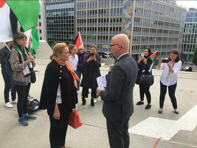 اعتصام في النرويج رفضا لقرار الاحتلال ضم الأغوار