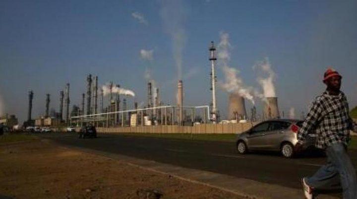 مقتل اثنان واصابة اخرون في انفجار بمصفاة نفط جنوب إفريقيا