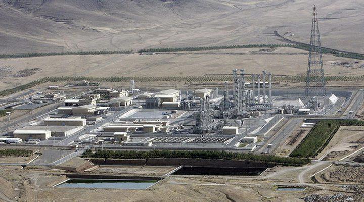 حادث في محطة نووية في إيران