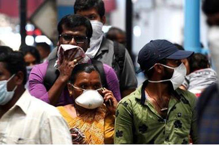 الهند: 434 وفاة جديدة بفيروس كورونا والإصابات تتجاوز 600 ألف