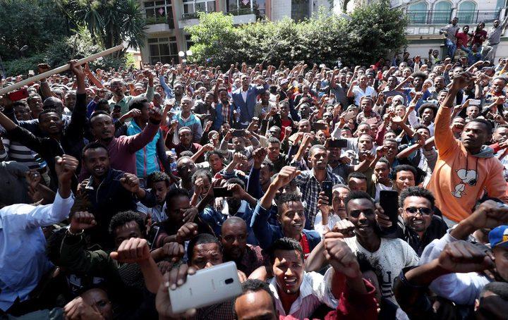 مقتل 81 اثيوبيا في احتجاجات خرجت عقب مقتل المغني هونديسا