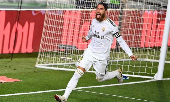 في الدقيقة 79.. راموس يهز شباك خيتافي ويمنح ريال مدريد الفوز