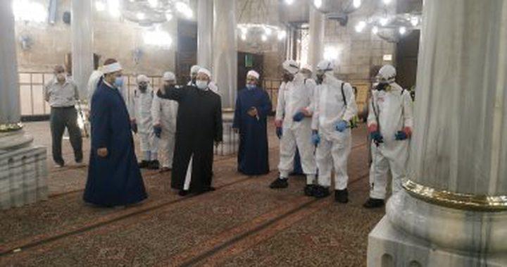 اغلاق المساجد بمصر اليوم الجمعة باستثناء مسجد السلطان حسن