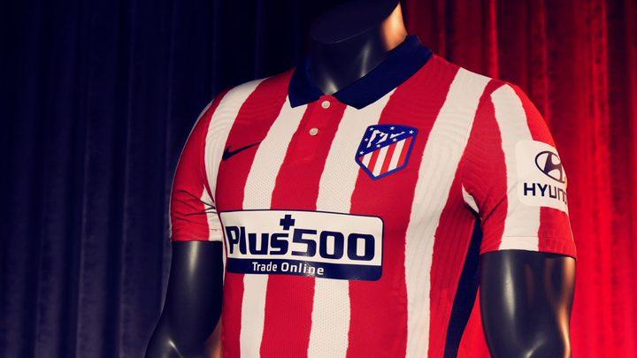 أتلتيكو مدريد يعتمد تصميم كلاسيكي لقميصه الجديد