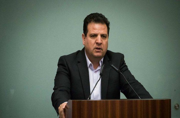 """دعوات اسرائيلية للإطاحة برئيس القائمة المشتركة """"عودة"""""""