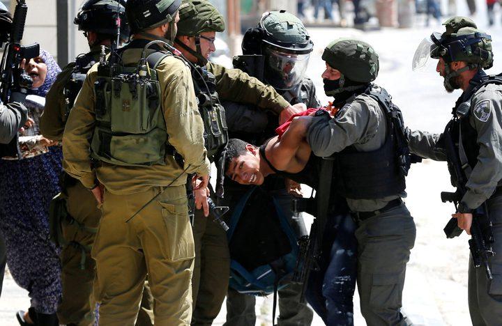 اعتقال طالبجامعي قرب الخان الأحمر