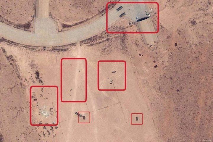 تدمير دفاعات جوية تركية بقاعدة الوطية في ليبيا بعد تجهيزها بساعات