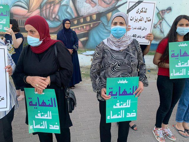 الطيبة.. تظاهر العشرات ضد استمرار جرائم قتل النساء