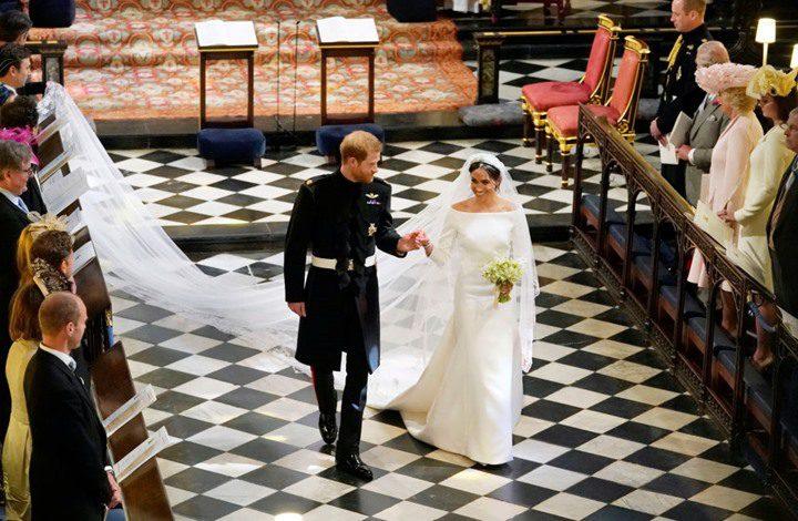 وثائق تكشف عن عائدات حفل زفاف ميغان وهاري