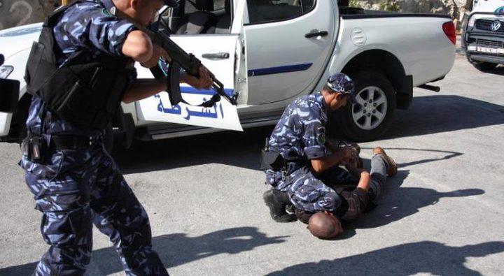 القبض على تاجر مخدرات غرب جنين