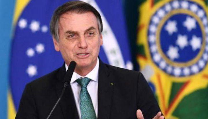 اصابة الرئيس البرازيلي بفيروس كورونا