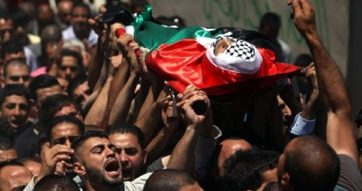 الصحة: استشهاد شاب برصاص الاحتلال شمال سلفيت
