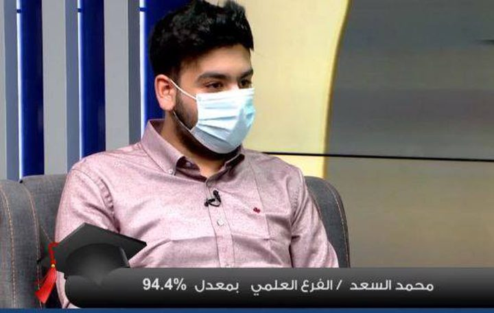 الطالب محمد سعد يستذكر أجواء امتحان الثانوية في ظل تفشي كورونا