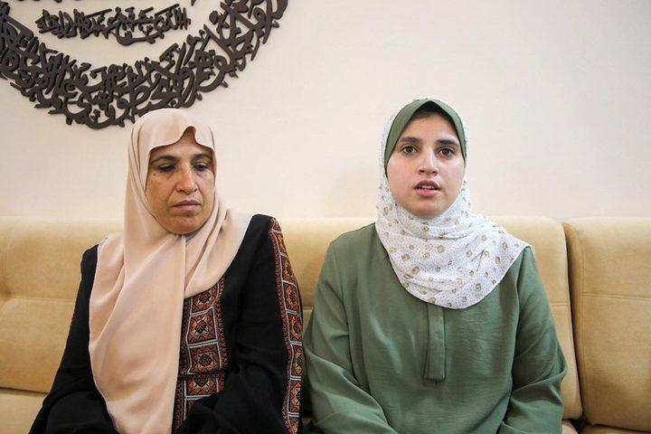 إيمان ابو شمالة نالت التفوق بإصرارها وعزيمتها ودعم أسرتها