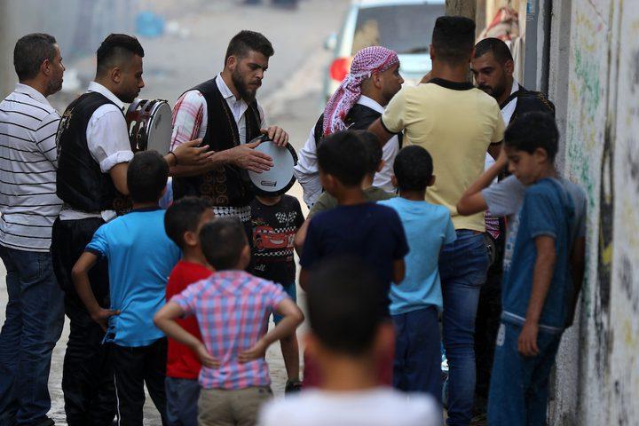 المواطنون في غزة يحتفلون هذا اليوم بنجاح طلاب الثانوية العامة 2020، ومظاهر الفرح تنتشر في كثير من الشوارع والبيوت .
