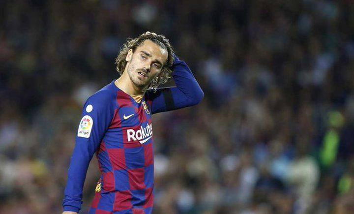 برشلونة يصدر بيانًا عن إصابة جريزمان