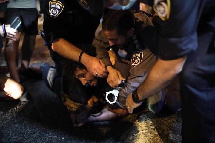 مظاهرات احتجاجية على تعامل حكومة الاحتلال مع أزمة كورونا