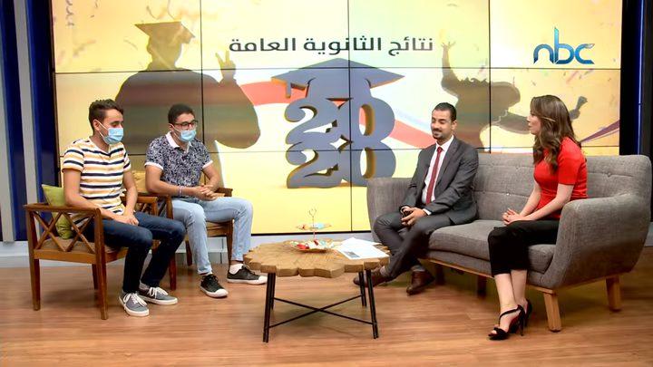 الطالبان التوأم سليمان وزيد الكردي يجتازان امتحان الثانوية العامة