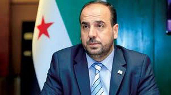 نصر الحريري رئيسا للائتلاف السوري المعارض