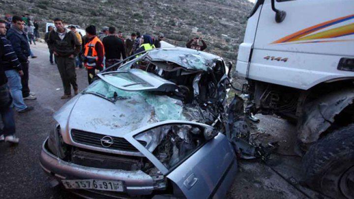 مصرع شخص وإصابة 112 في 143 حادثاً مرورياً الأسبوع الماضي