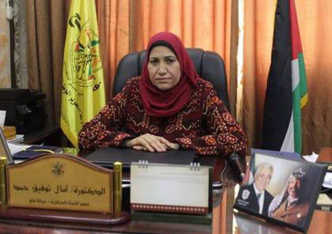 حمد: النساء الفلسطينيات يعانين من انتهاكات ممنهجة