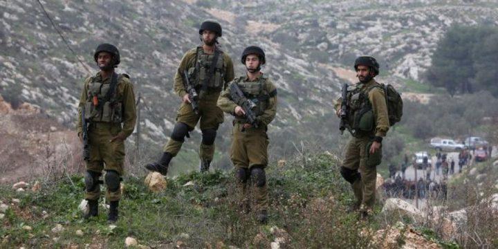 قوات الاحتلال تخطر بالاستيلاء على قطعة أرض شرق ياسوف