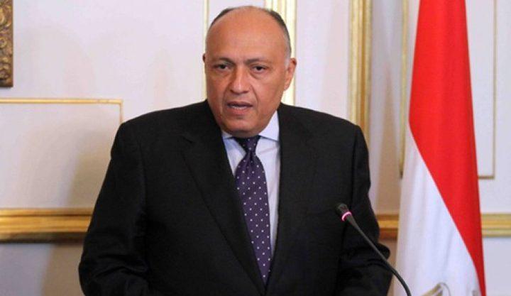 وزير الخاريجة المصري يحدد الخط الأحمر بخصوص سد النهضة