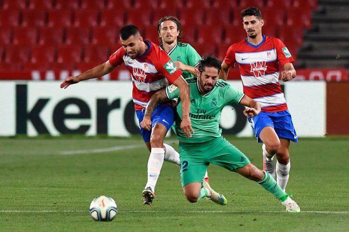 ملخص مباراة ريال مدريد وغرناطة في الدوري الاسباني