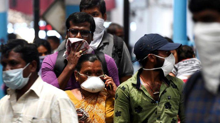 الهند: أكثر من 28 الف اصابة و553 وفاة جديدة بفيروس كورونا