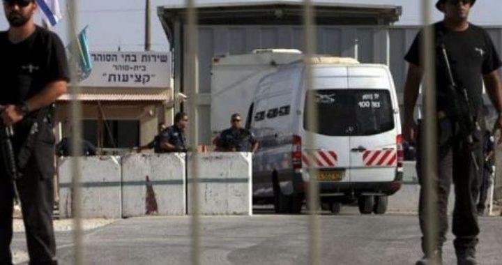 """ادارة سجون الاحتلال: نتائج العينات في سجن جلبوع """"سلبية"""""""